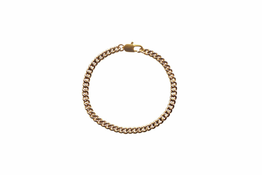 Laura Lombardi Jewelry Laura Lombardi Curb Chain Anklet