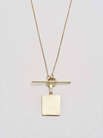 Loren Stewart Jewelry Square and Toggle Necklace