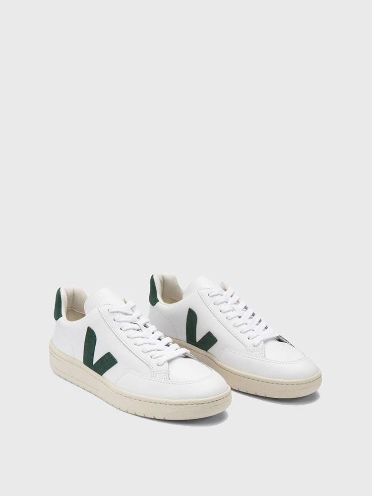 Veja Shoes V-12 Leather Extra White Cyprus