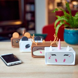 Colunas Bluetooth Adorable + 3+3W