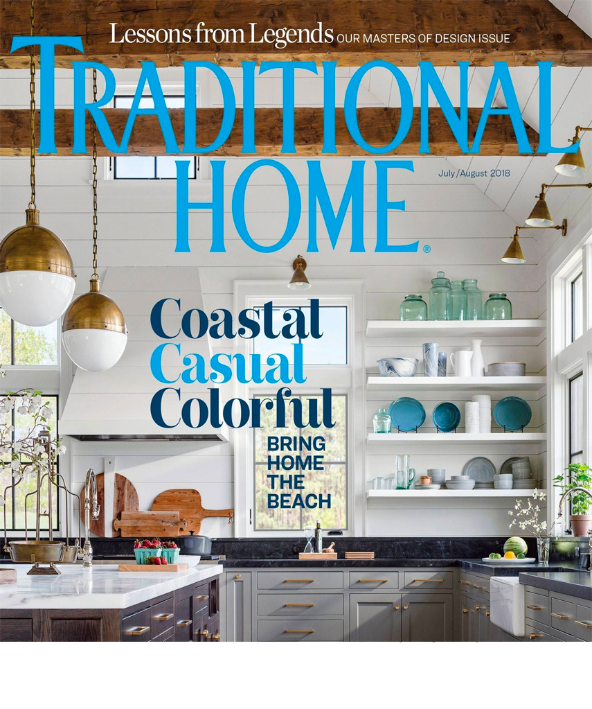 Traditional Home August 2018 Laurier Blanc Unique Home Decor