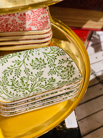 Delicate Patterned Trinket Dish | Two Colors