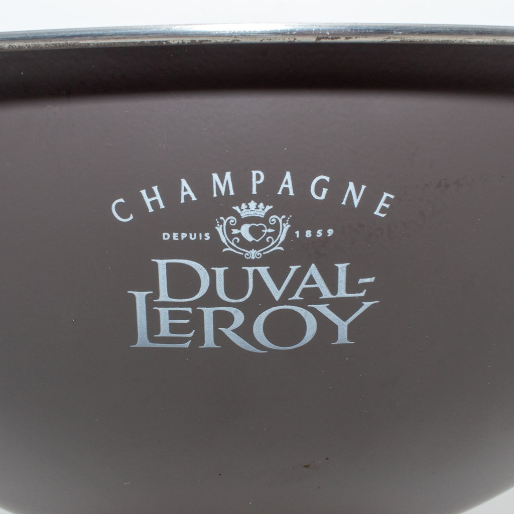 French Stainless Steel Champagne Bowl | Duval LeRoy Label