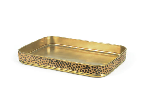 Leopard Edge Tray