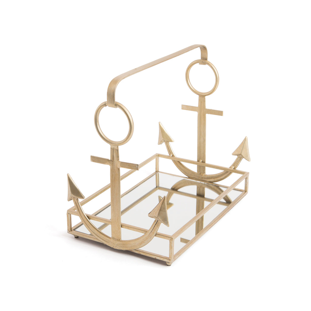 Mirrored Anchor Tray