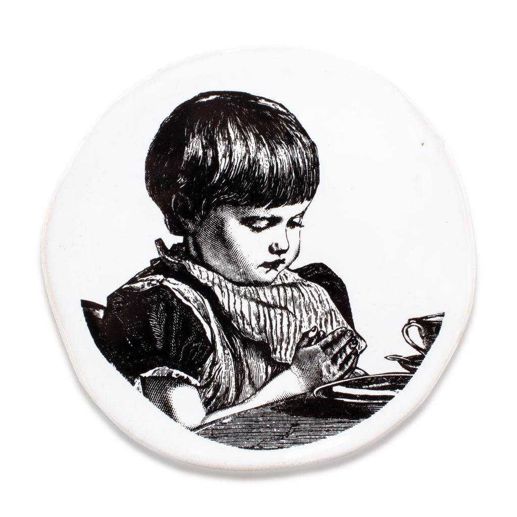 Kuhn Keramik Praying Child Very Small Plate