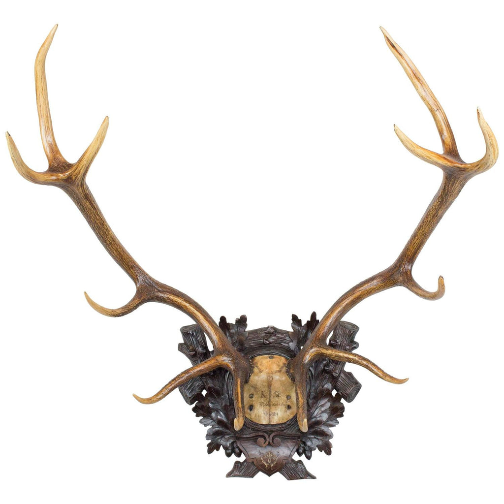 1884 Red Stag with Wappen of Kaiser Wilhelm I of Germany