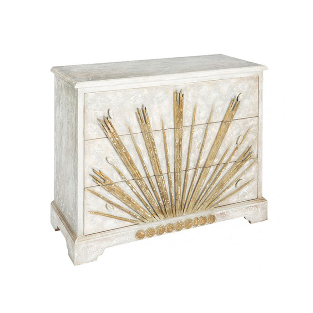 Sallora Dresser in Gold