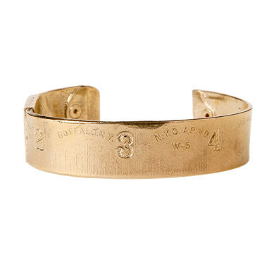 Gold Ruler Bangle
