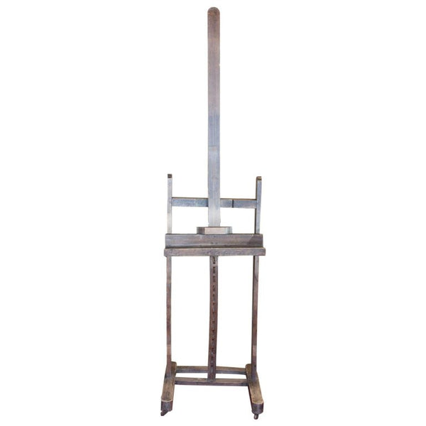 Antique French Artist's Easel ca. 1900