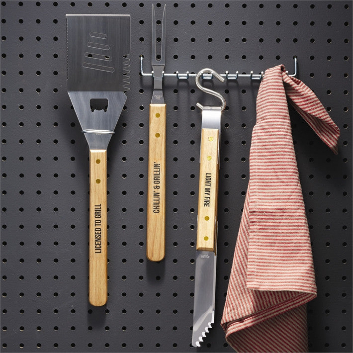 BBQ Banter Grilling Tools Gift Set
