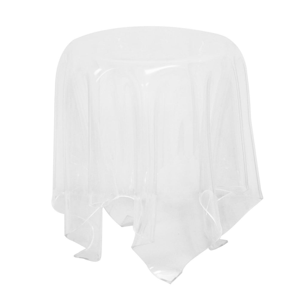 Clear Acrylic Blair Tablecloth Table