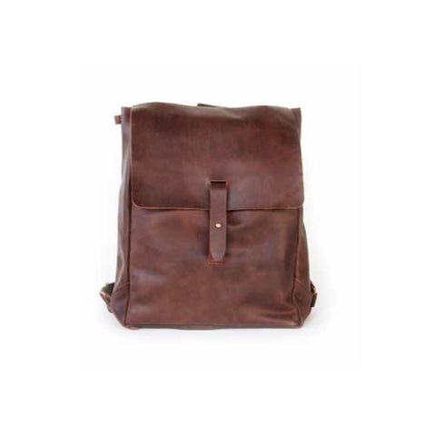 Meyelo Kenyan Nubuck Leather Backpack