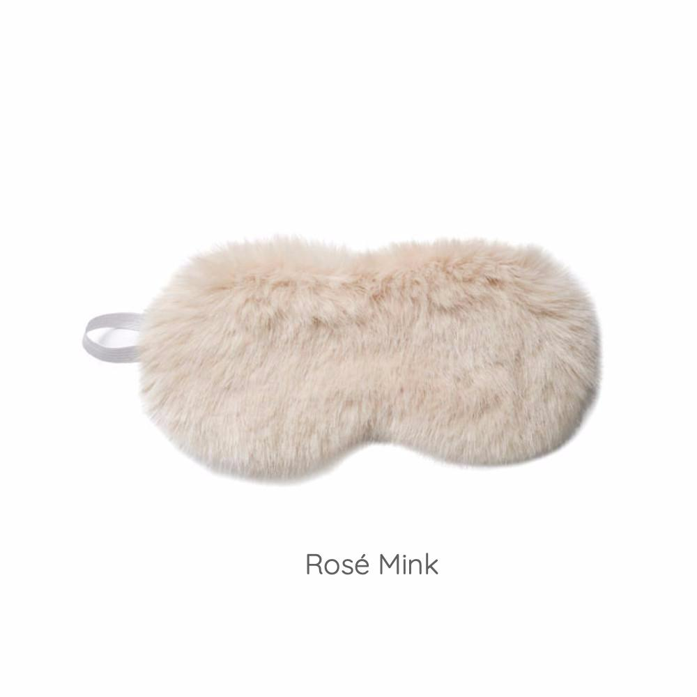 Luxe Fur Eye Masks - Machine Washable!