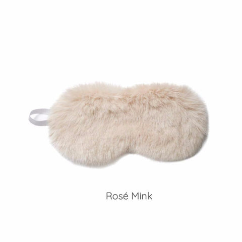 Luxe Faux Fur Eye Mask