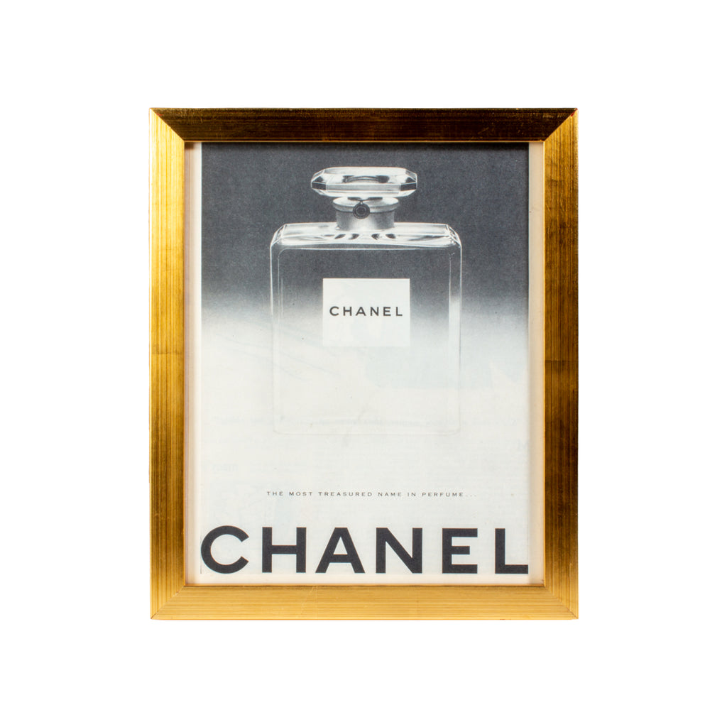 Vintage French Chanel Perfume Advertisement