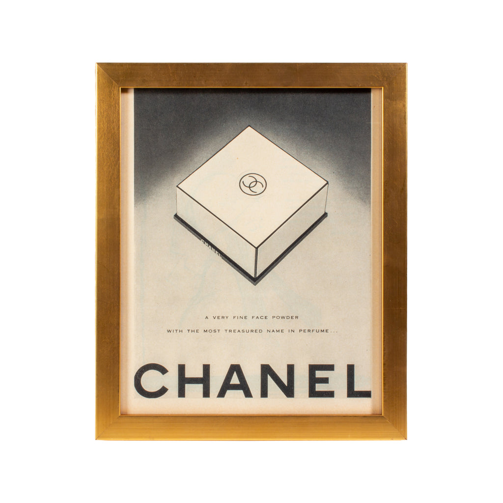 Vintage French Chanel Cosmetics Advertisement