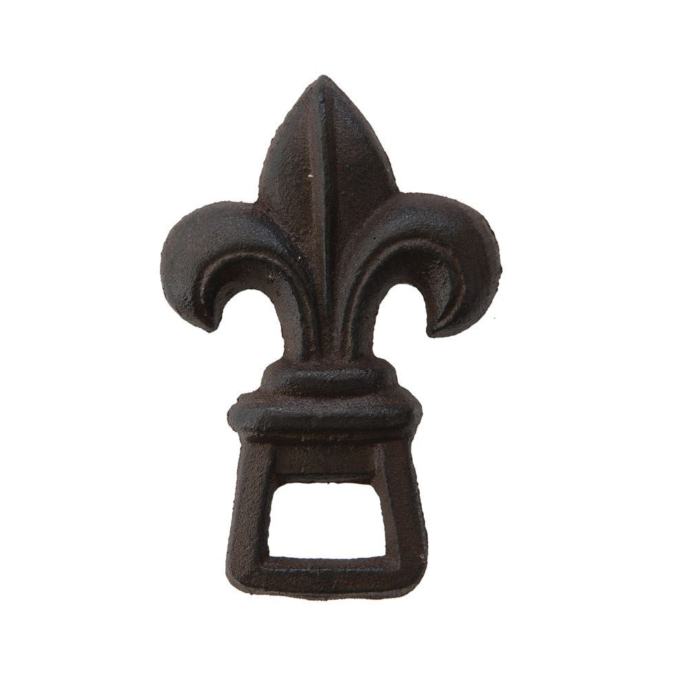 Cast Iron Fleur De Lis Bottle Opener