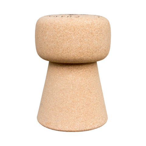 Portugueuse Champagne Cork Stool & Side Table