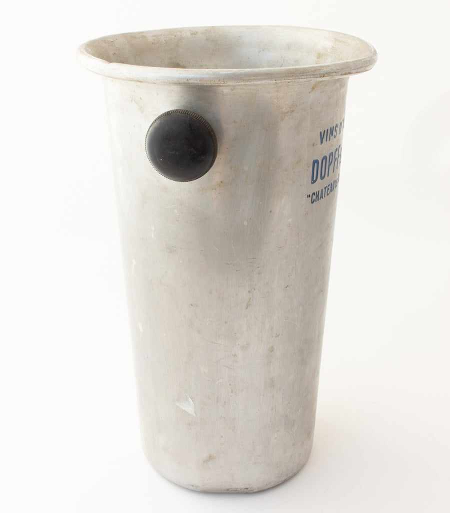 Vintage French Metal Ice Bucket | Dopff & Irion Label
