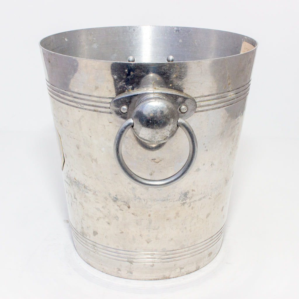 Vintage French Metal Ice Bucket | Alain Thienot Label