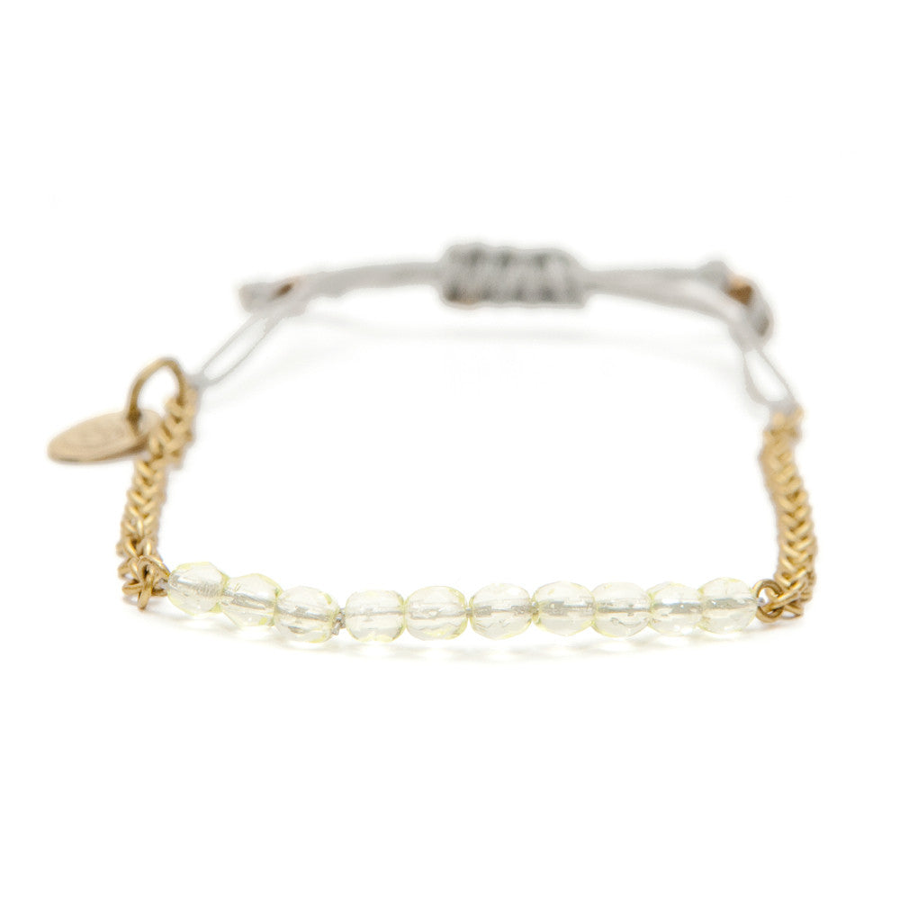 Sasa Designs Citron Cinch Bracelet