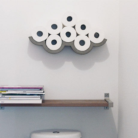 Clouds Toilet Paper Shelving