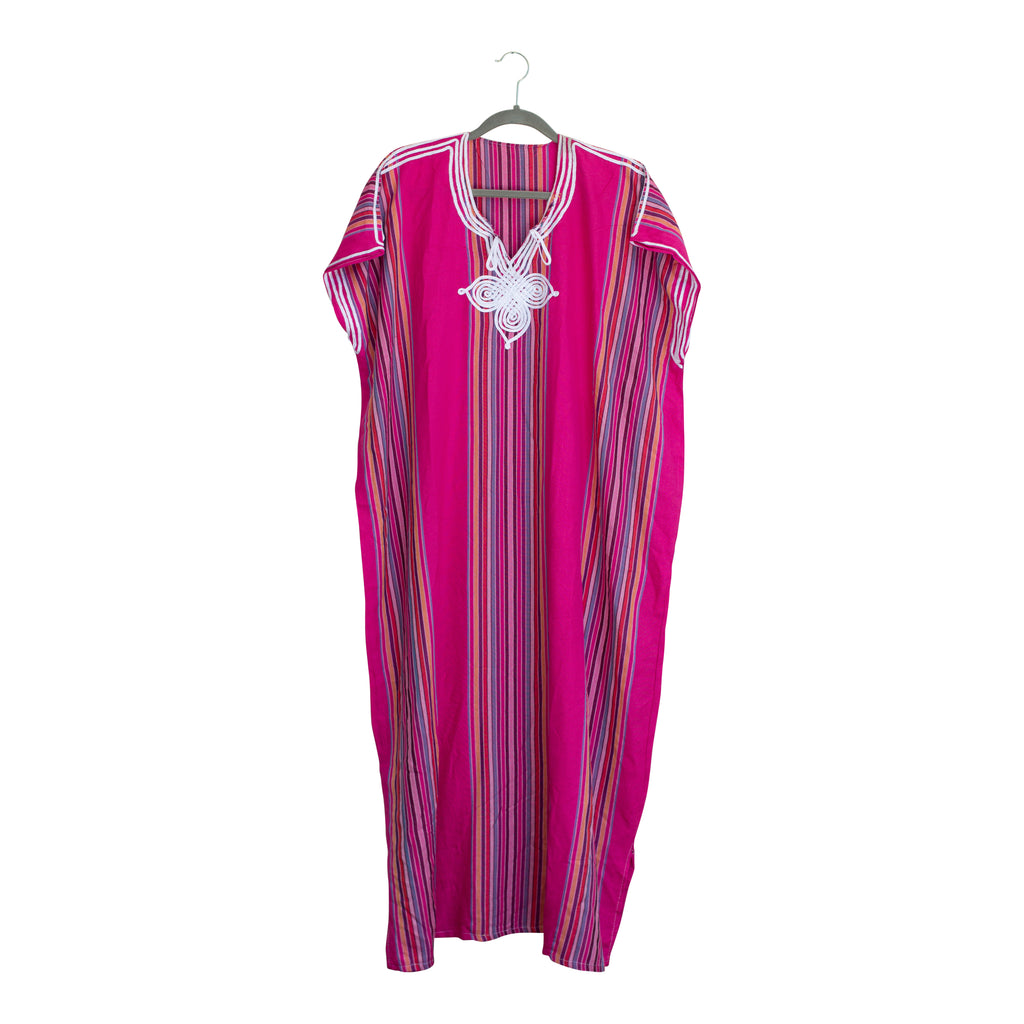 Colorful Cotton Caftans from Morocco | More Colors Available