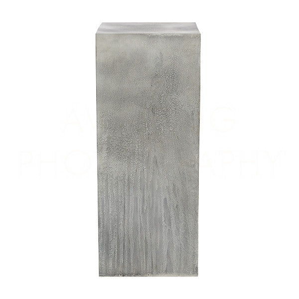 Weathered Zinc Column