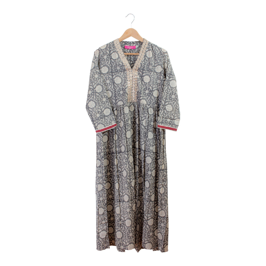 Indian Cotton & Sequined Kurta