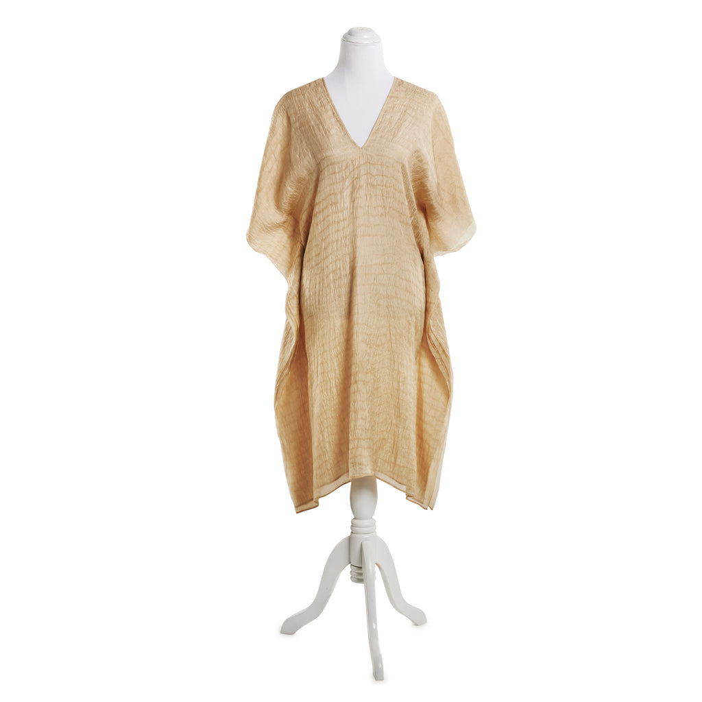 Eric Raisina Silk Kaftan Dress