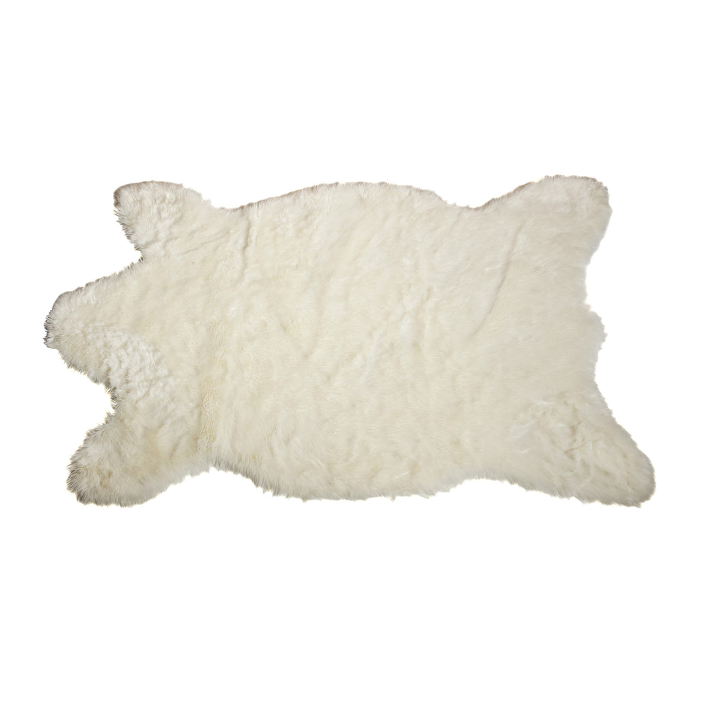 Faux Polar Bear Skin Rugs