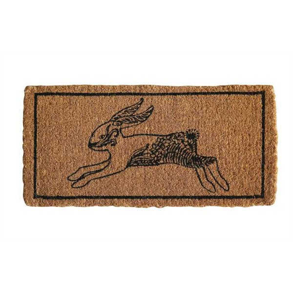 Jumping Rabbit Doormat