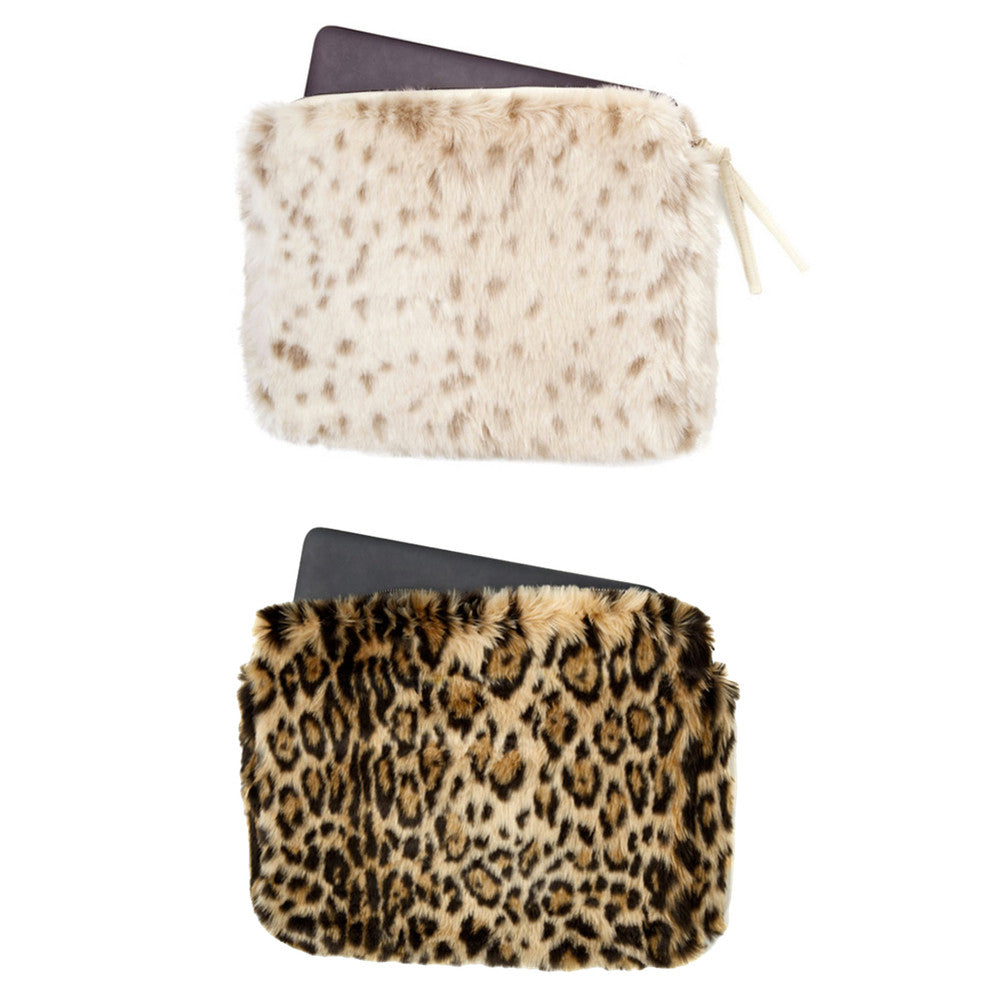 Faux Fur Laptop Sleeve (Two Styles)