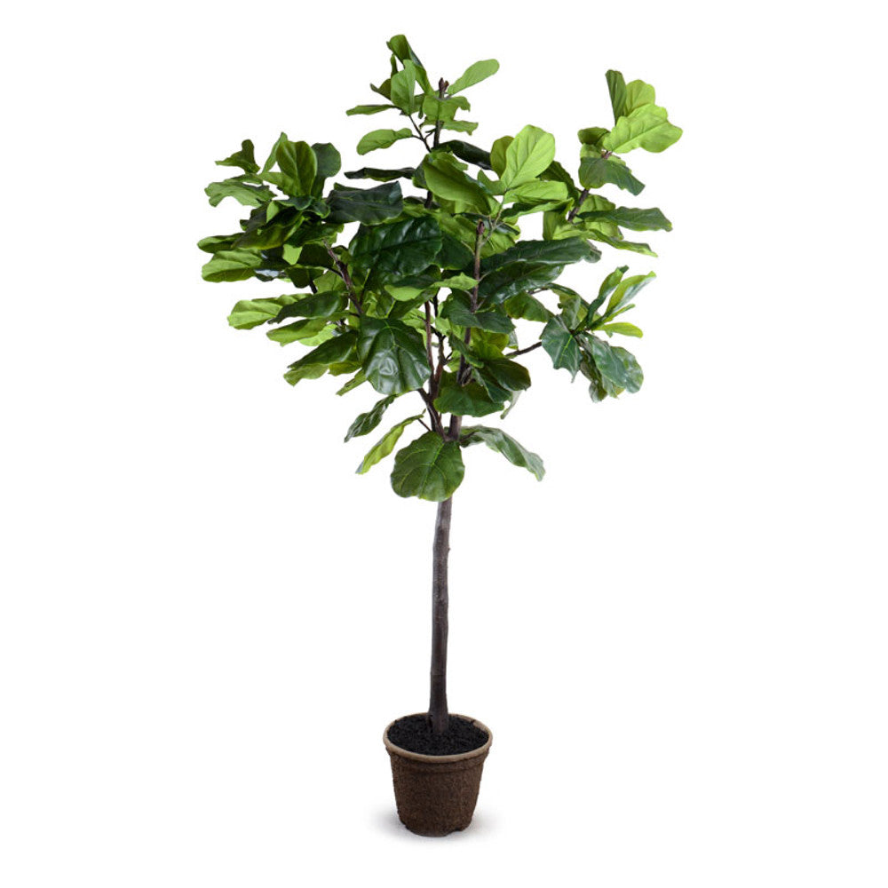 Faux Fiddle Leaf Fig Tree - 9'