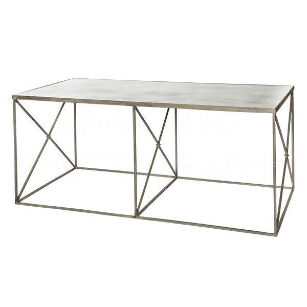Furano Zinc Coffee Table