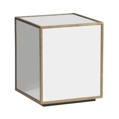 Owen Mirrored Cube Table