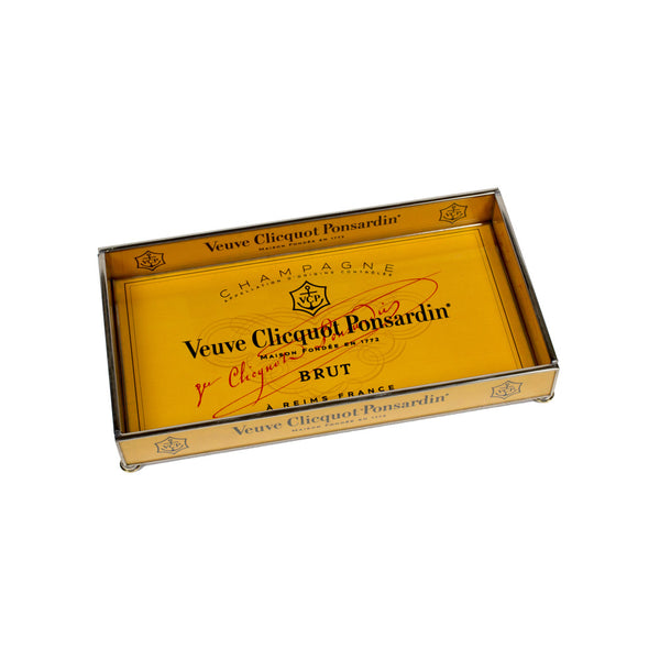 Veuve Clicquot Champagne Glass Tray