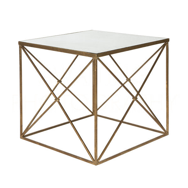 Furano Gold Side Table