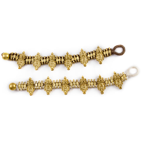 Honey Bracelet - Handmade in Egypt (Two Colors Available)