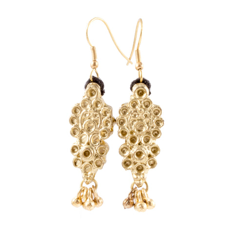 Honey Drop Earrings - Handmade in Egypt