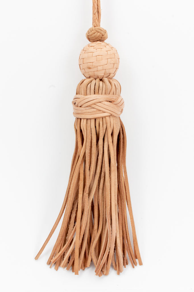 Large Handmade Moroccan Leather Tassel
