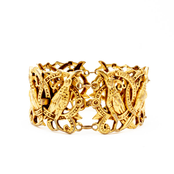 Vintage Art-Deco Style Link Bracelet found in France