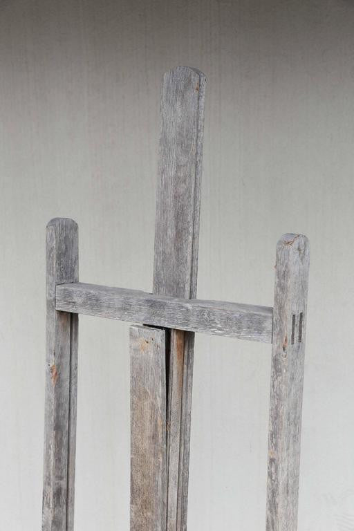 Antique French Easel from Chartres, France