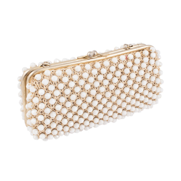 1940s French Beaded Clutch Found in Paris