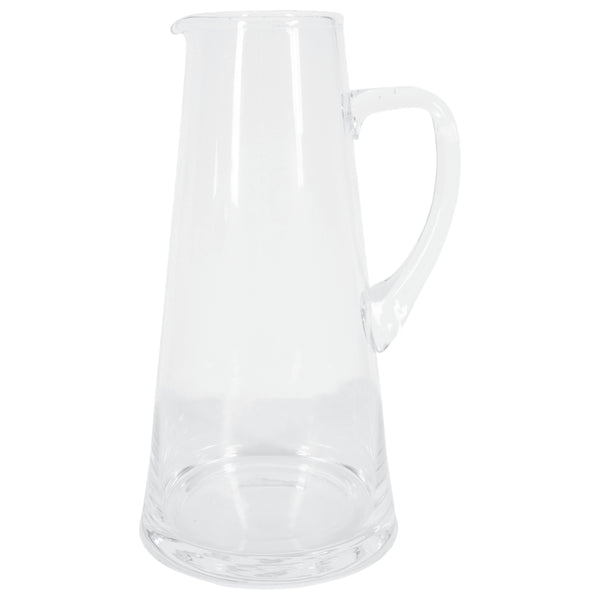 "Hand Blown Belgian Glass ""Ruth"" Pitcher"