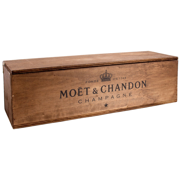 Vintage Möet & Chandon Wood Box discovered in Italy