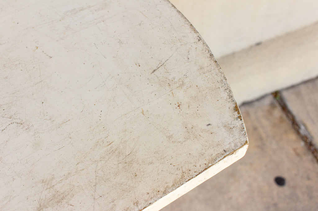 1960s French Industrial Side Table