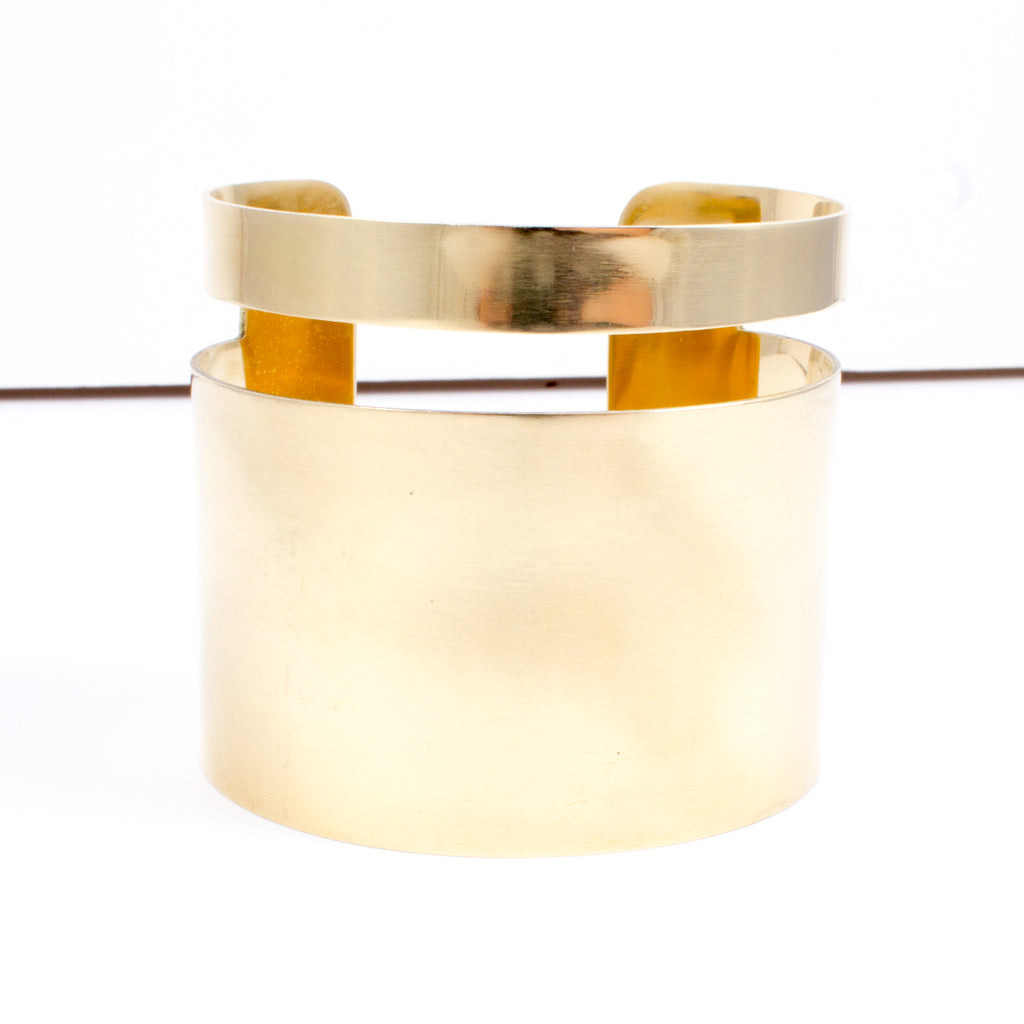 Jela Wide Cuff by Meyelo