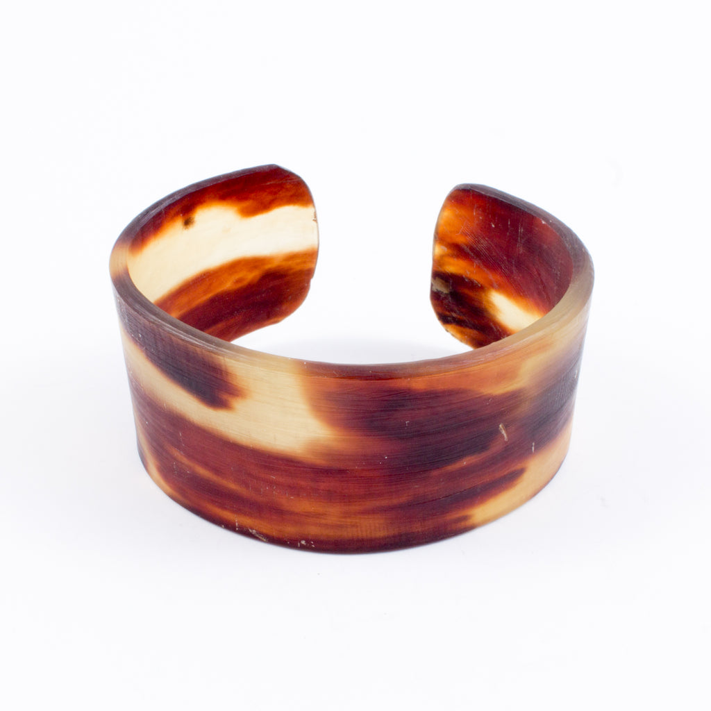 Handmade Tortoise Shell Cuffs from Jamaica